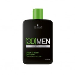 Schwarzkopf [3D]Mension Normal Hair  Hair & Body Shampoo 250ml