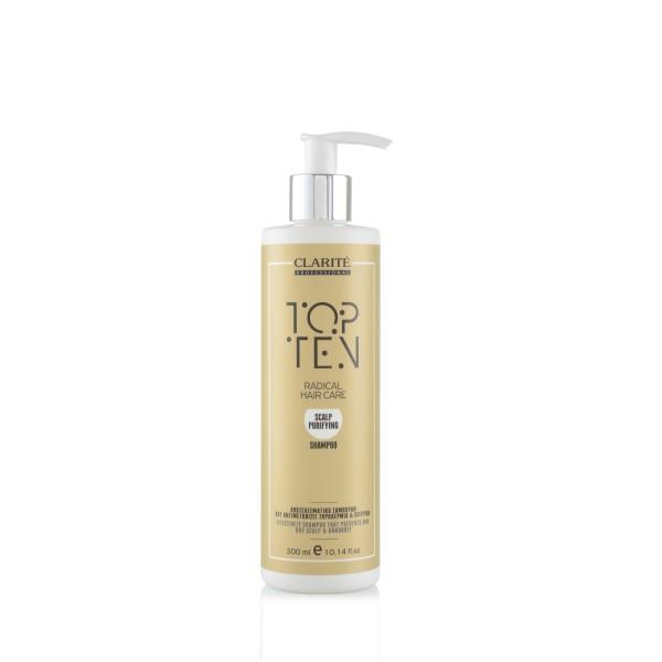 Clarite Top Ten Scalp Purifying Shampoo 300ml
