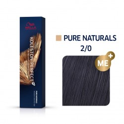 Wella Koleston Perfect Me Pure Naturals 2/0 Μαύρο Φυσικό 60ml