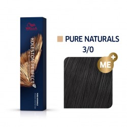 Wella Koleston Perfect Me Pure Naturals 3/0 Καστανό Σκούρο 60ml