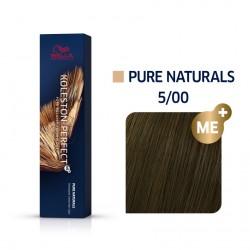 Wella Koleston Perfect Me Pure Naturals 5/00 Καστανό Ανοιχτό Έντονο Φυσικό 60ml
