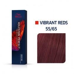 Wella Koleston Perfect Me Vibrant Reds 55/65 Έντονο Καστανό Ανοιχτό Βιολέ Μαονί 60ml