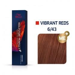 Wella Koleston Perfect Me Vibrant Reds 6/43 Ξανθό Σκούρο Κόκκινο Χρυσό 60ml