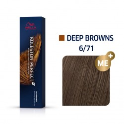 Wella Koleston Perfect Me Deep Browns 6/71 Ξανθό Σκούρο Καφέ Σαντρέ 60ml