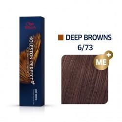 Wella Koleston Perfect Me Deep Browns 6/73 Ξανθό Σκούρο Καφέ Χρυσό 60ml