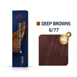 Wella Koleston Perfect Me Deep Browns 6/77 Ξανθό Σκούρο Καφέ Έντονο 60ml
