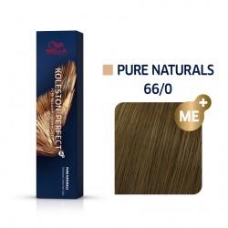 Wella Koleston Perfect Me Pure Naturals 66/0 Ξανθό Σκούρο Έντονο Φυσικό 60ml