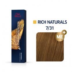 Wella Koleston Perfect Me Rich Naturals 7/31 Ξανθό Χρυσό Σαντρέ 60ml