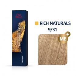 Wella Koleston Perfect Me Rich Naturals 9/31 Ξανθό πολύ Ανοιχτό Χρυσό Σαντρέ 60ml