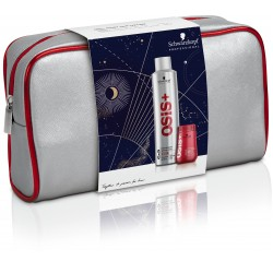 OSiS+ Christmas Bag  (Session Hairspray 300ml - Dust It Powder 10g)