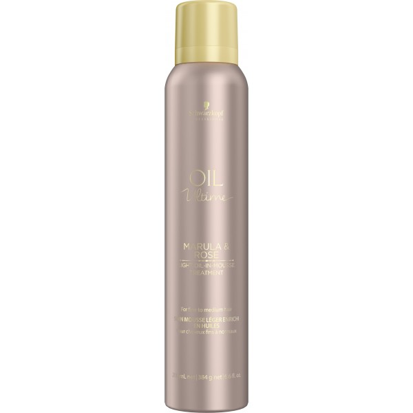 Schwarzkopf Oil Ultime Marula & Rose Light-Oil-In-Mousse 200 ml