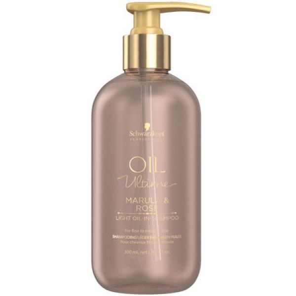 Schwarzkopf Oil Ultime Marula & Rose Light-Oil-In-Shampoo 300 ml